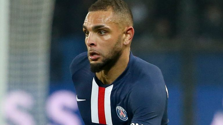 Kurzawa's contract with PSG expires at the end of the season