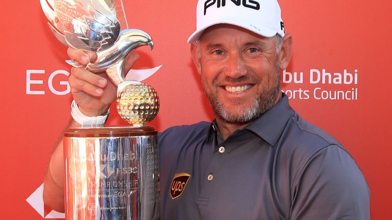 Westwood won his 44th career title in Abu Dhabi earlier this year