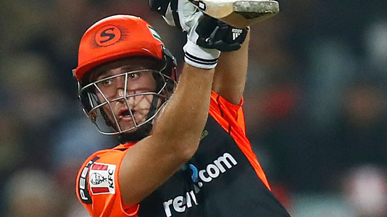 Liam Livingstone has taken Denly's place in England's 14-man squad