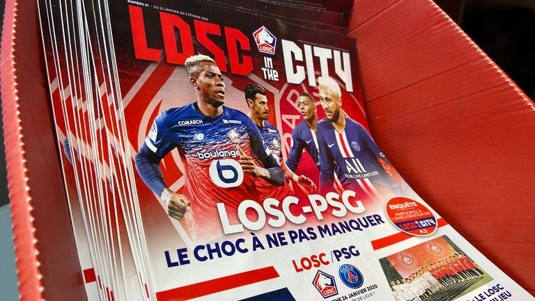 Lille are at home to Paris Saint-Germain this weekend