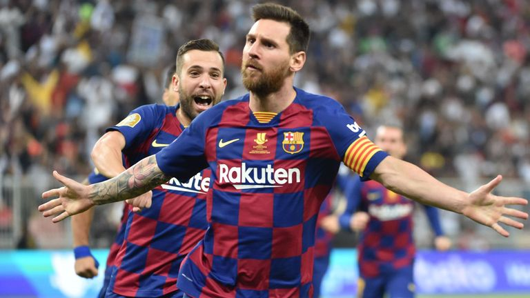 Messi turns 33 in June 2021 and his role is already being redefined