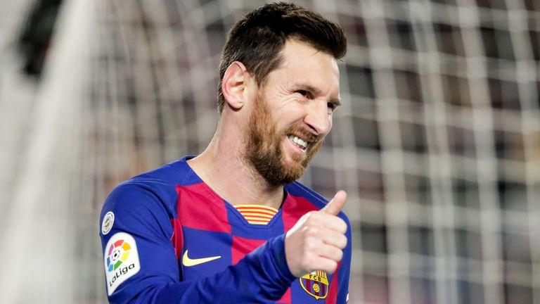 Lionel Messi's goal got Quique Setien's reign off to a winning start
