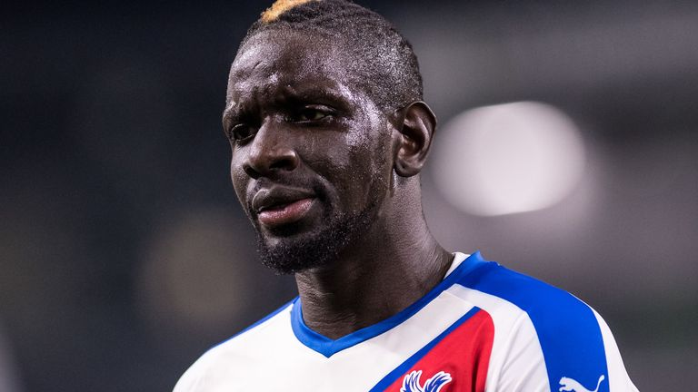 Crystal Palace defender Mamadou Sakho faces a spell on the sidelines with a hamstring injury
