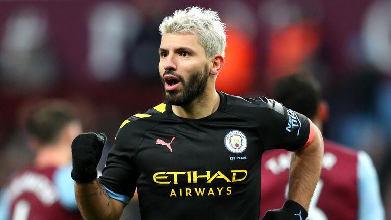 Sergio Aguero's treble blew Aston Villa away