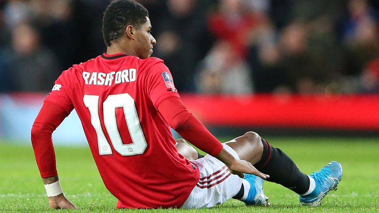 Marcus Rashford Touch And Go On Manchester United Return Before End Of Season Says Ole Gunnar Solskjaer Football News Sky Sports