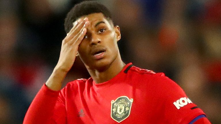 Marcus Rashford Manchester United Striker Continuing To Tackle Child Food Poverty Football News Sky Sports