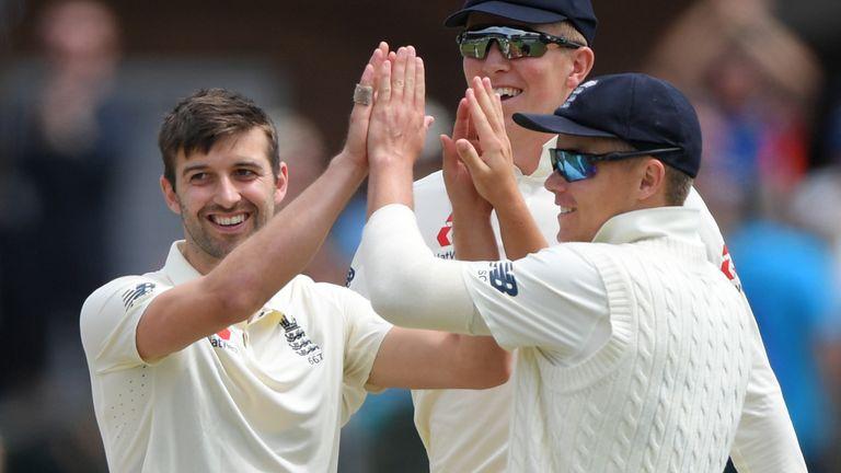 Mark Wood, England, Test vs South Africa at Port Elizabeth