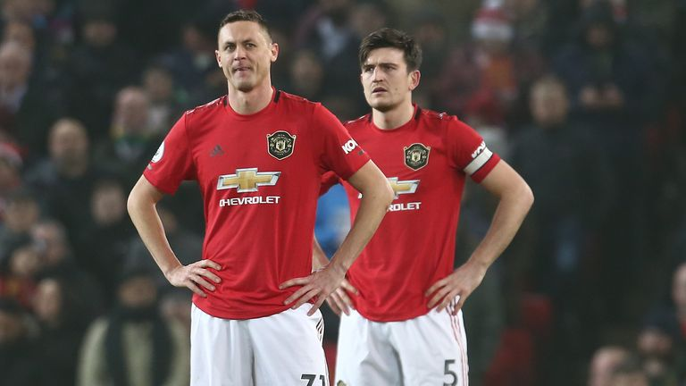 Manchester United suffered a demoralising defeat at home to Burnley on Wednesday