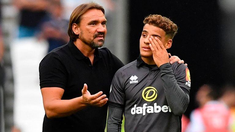 Daniel Farke has put his faith in Aarons