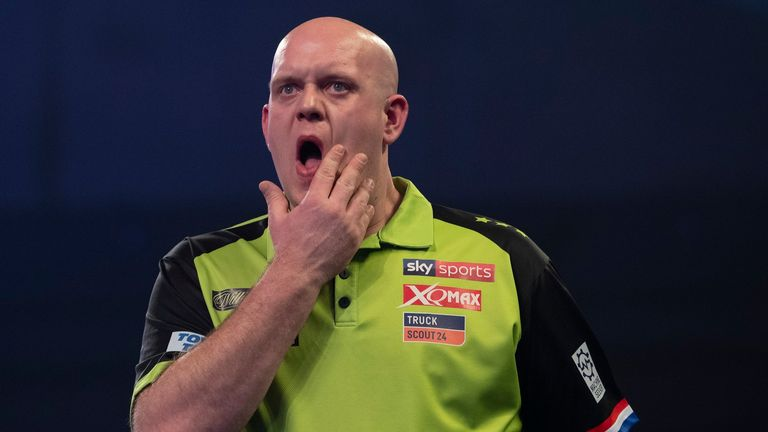 The Dutchman was denied a fourth World Championship crown after losing in last month's final against Peter Wright