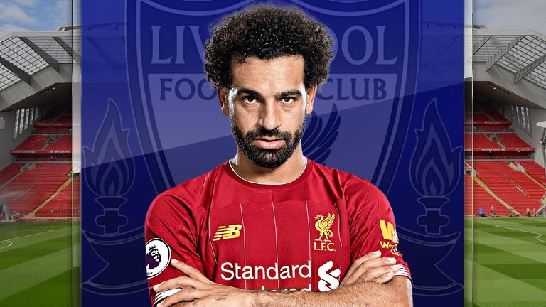 Mohamed Salah has scored 14 goals for Liverpool this season