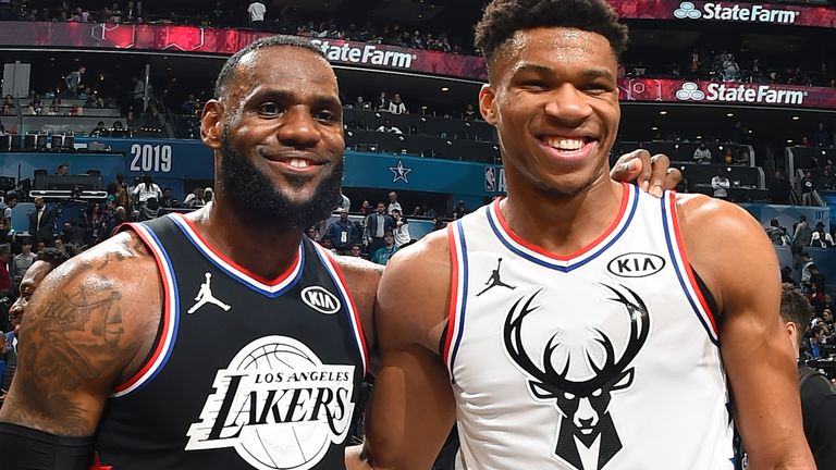 Giannis and LeBron have been selected as All-Star captains once again