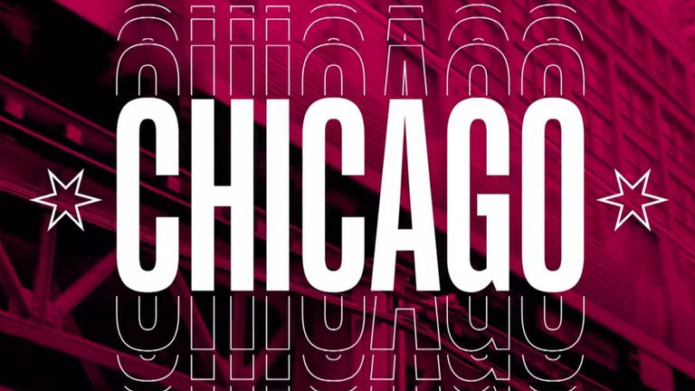 The 2020 All-Star Weekend takes place in Chicago on February 14-16