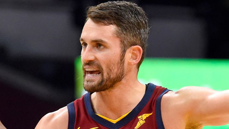 Kevin Love is not happy with life at the Cleveland Cavaliers right now