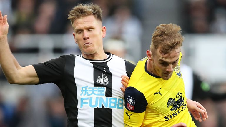 Newcastle were forced to another FA Cup replay, held by League One Oxford United