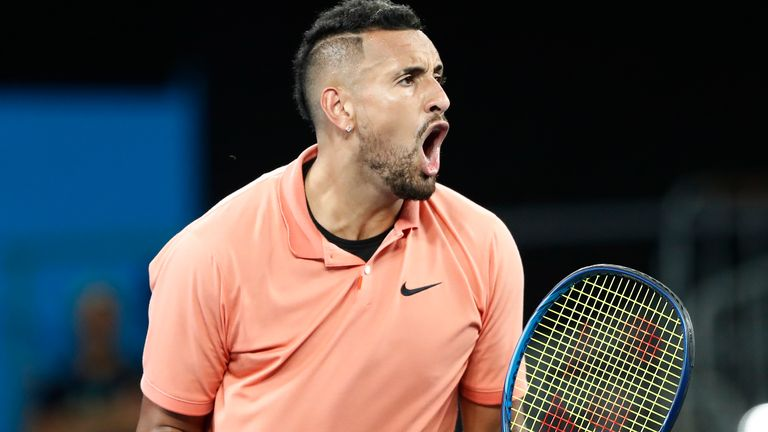 Nick Kyrgios was pushed the distance by Karen Khachanov, before winning the longest match of his career