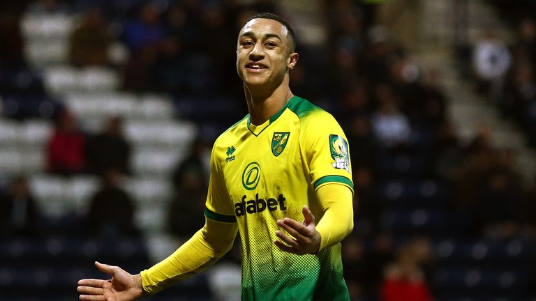 Adam Idah had a day to remember as Norwich eased past Preston