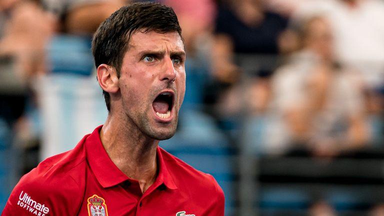 Atp Cup Novak Djokovic Helped Serbia Reach The Semi Finals Tennis News Sky Sports