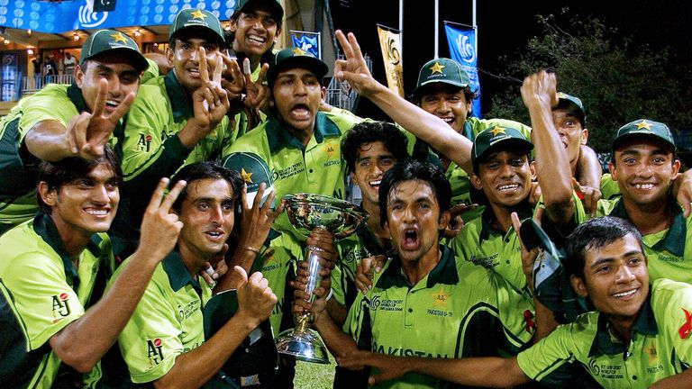 Pakistan claimed their second U19 World Cup win in 2006 with a victory over rivals India