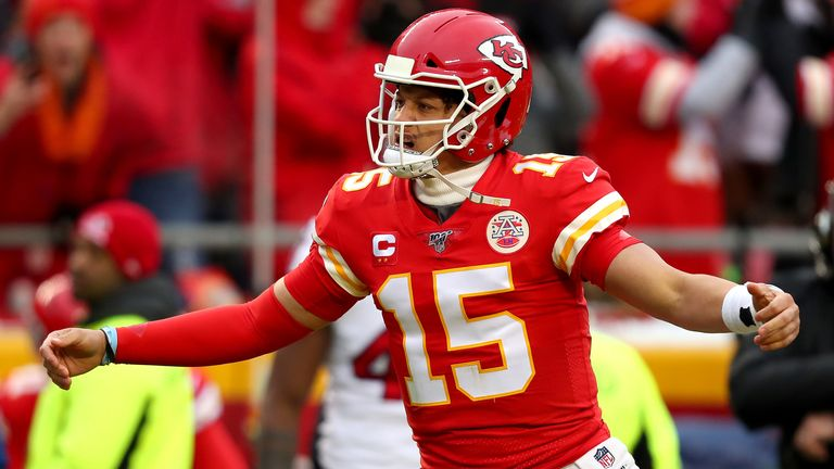 Patrick Mahomes threw five touchdowns in Kansas City's comeback win