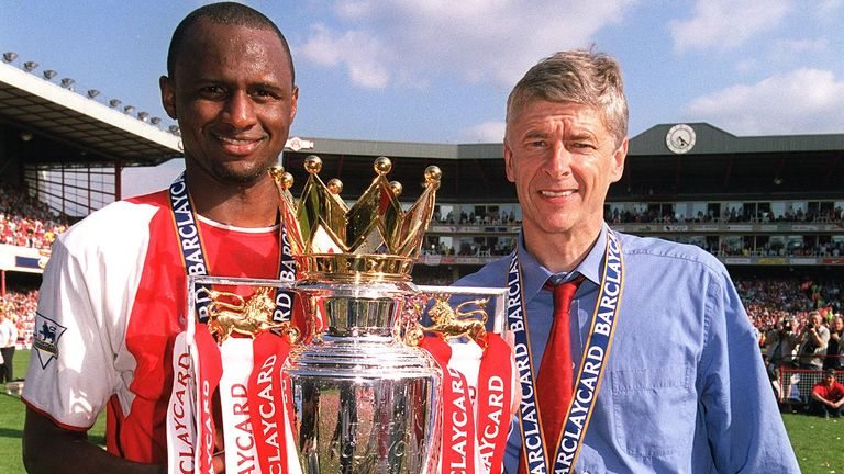 Patrick Vieira held talks with Arsenal when Arsene Wenger left, but was not in the frame to replace Unai Emery