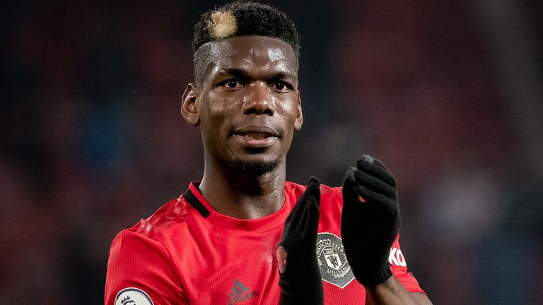 Paul Pogba's future at Old Trafford remains uncertain