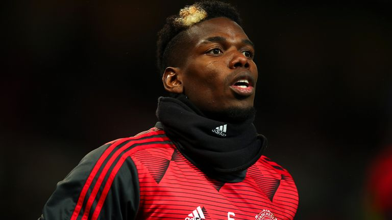 Paul Pogba has not featured for Man Utd since Boxing Day