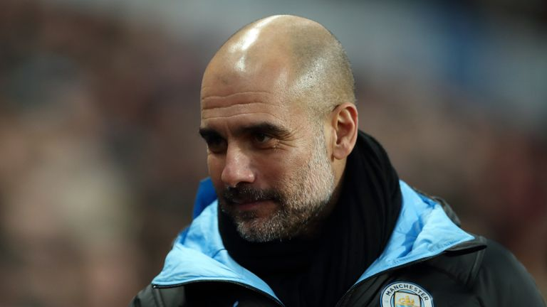 Pep Guardiola says he will only leave Man City if he is sacked.