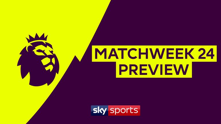 A look at some of the key-facts ahead of match-week 24 including Chelsea's clash with Arsenal and Man City's trip to Bramall Lane.