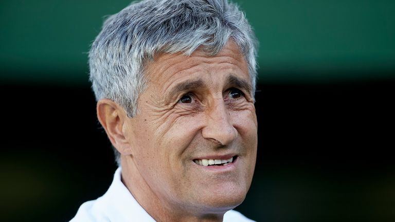 Setien been out of work since leaving Real Betis in May