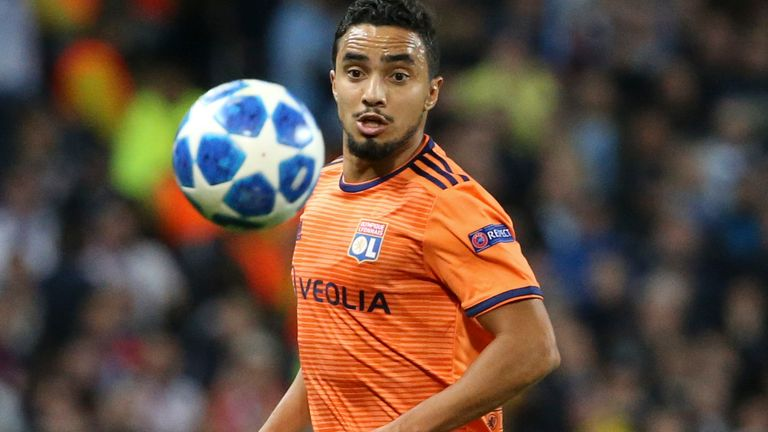 Lyon's Rafael da Silva could be heading back to the Premier League