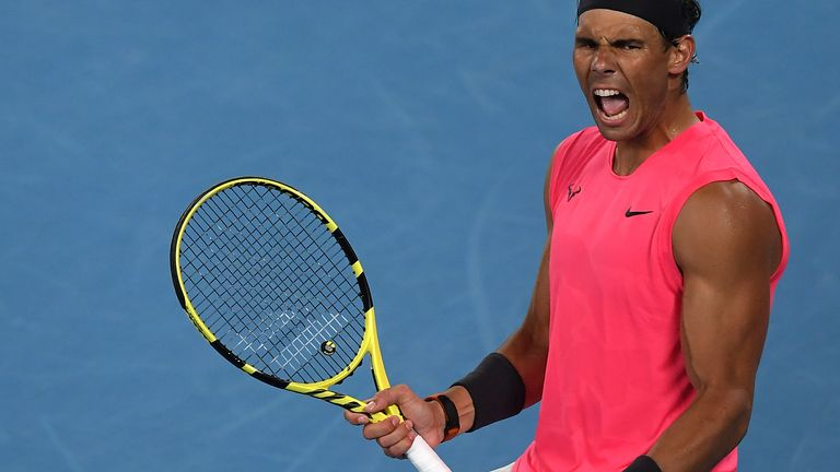 Nadal passes Krygios test and reaches quarter-finals