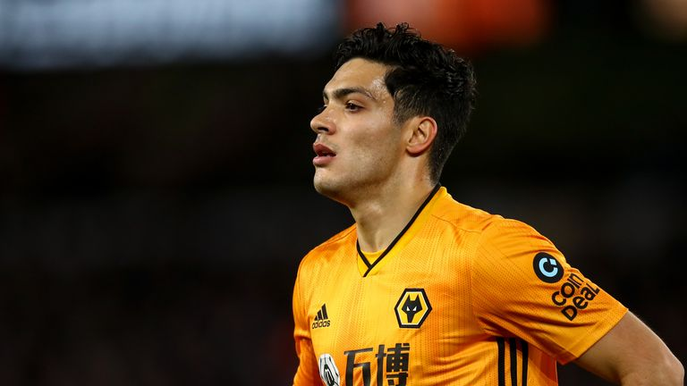 Manchester United have shown an interest in Wolves striker Raul Jimenez