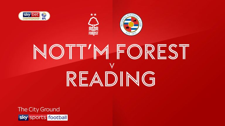 Nottm Forest v Reading