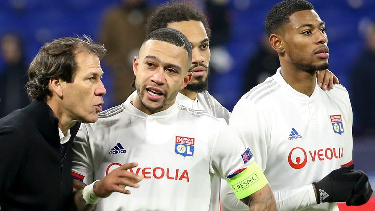 Lyon have lost Memphis Depay and Jeff Reine-Adelaide to season-ending injuries in recent weeks
