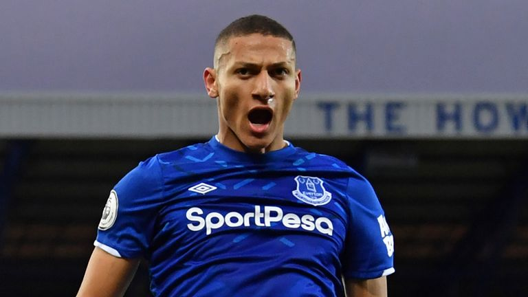 Everton have rejected an £85m bid from Barcelona for Richarlison