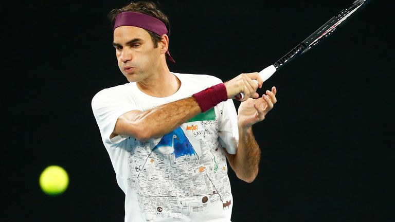 Roger Federer is a six-time champion in Australia