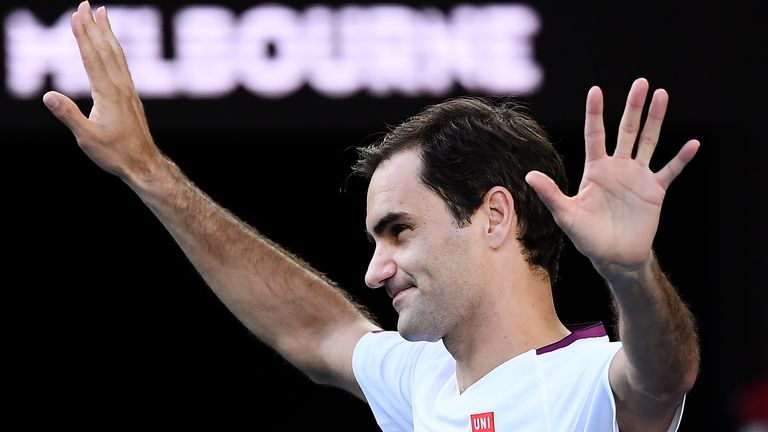 Roger Federer has lost five sets on his way to the semi-finals in Melbourne