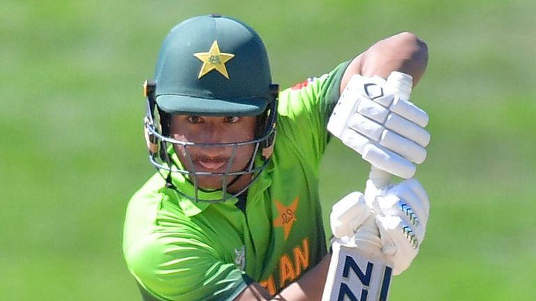 Rohail Nazir captains the Pakistan U19 team in South Africa