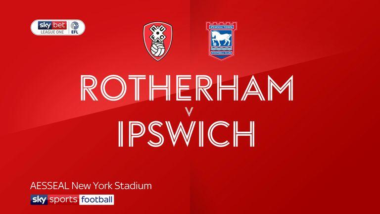 Rotherham v Ipswich