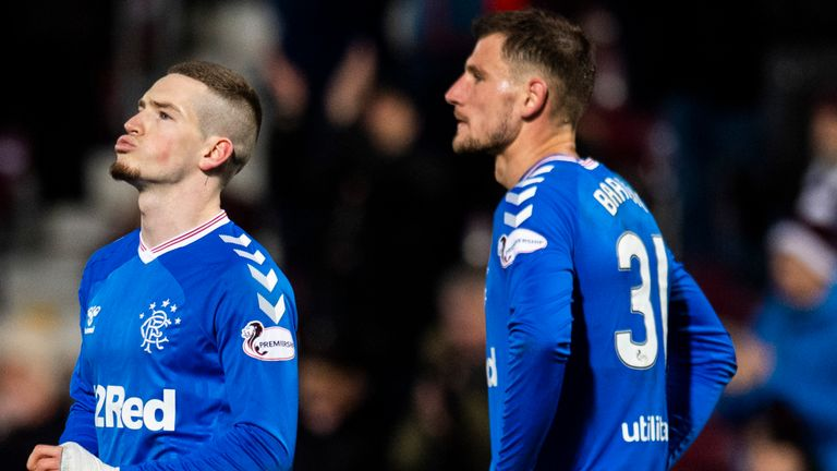 Ryan Kent and Borna Barisic reflect on a surprise defeat for Rangers at Hearts