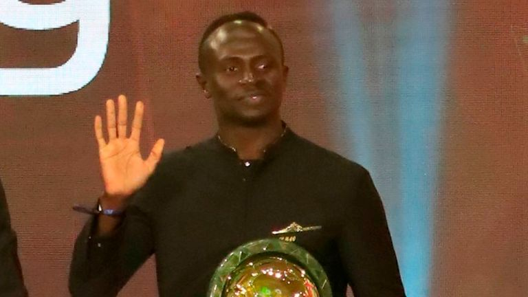 Sadio Mane is the first Senegalese player to win African Player of the Year since 2002