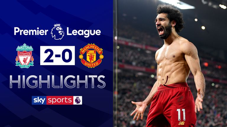 Liverpool v Manchester United highlights