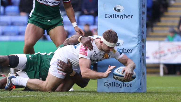 The RFU are in talks with the Premiership about still completing this season
