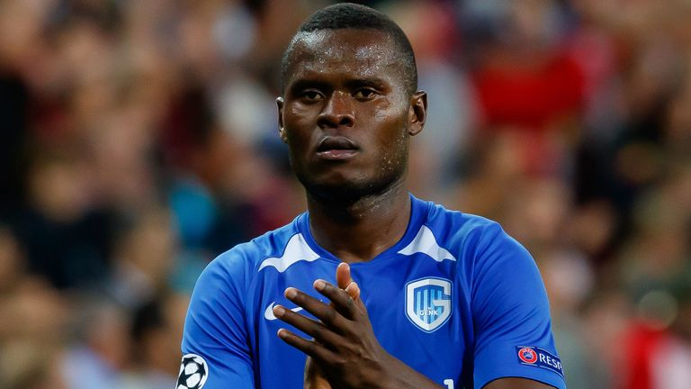Genk striker Mbwana Samatta is a January target for Aston Villa