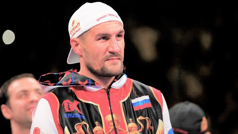 Sergey Kovalev's plans for the future are being discussed