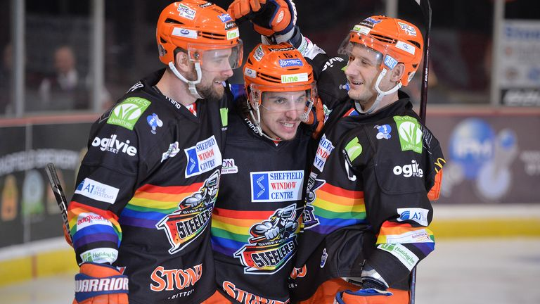 The Sheffield Steelers will be among the Elite League teams wearing special jerseys on Pride Weekend (picture: Dean Woolley)
