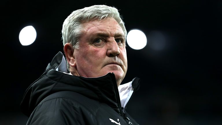 Steve Bruce has been faced with a deepening injury crisis at Newcastle