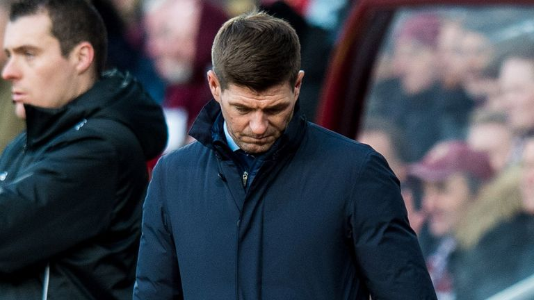 "Rangers boss Steve Gerrard admitted he was ""shocked"" by his side's display"