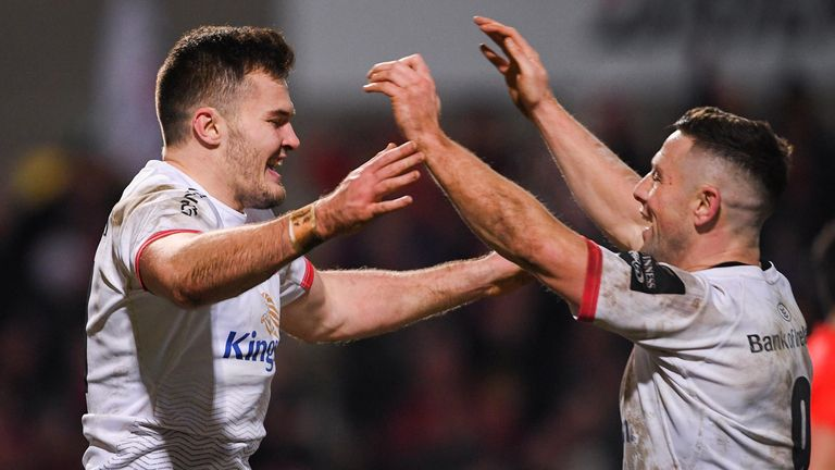 Jacob Stockdale, John Cooney and Ulster will be hoping Clermont slip up to clinch top spot in Pool 3